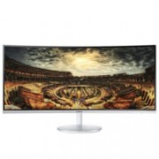 "Монитор Samsung C34F791WQUX, 34"" (86.36 cm) VA панел, UWQHD, 4ms, 5 000 000:1, 300cd/m2, DisplayPort, HDMI, DVI, USB"