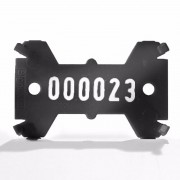 Placute de marcare Signumat Typ 01 SW - WE 3000-3999