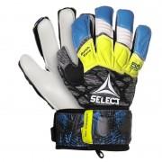 portar manusi Select GK mănuși 55 în plus forță Plat tăiat albastru gri