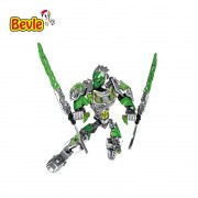 Bevle XSZ 610-1 BionicleMask of Light Bionicle Lewa Jungle Keeper of the Grove Building Block Compatible with Lepin 71305 Toys