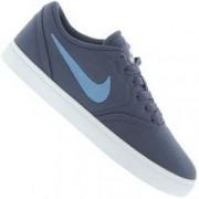 Nike Tênis Nike SB Check Canvas BG - Infantil - AZUL ESC/AZUL