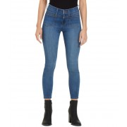 GUESS Phyla Patch Pocket Mid-Rise Skinny Jeans medium wash