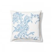 Ralph Lauren Home Bernardine Throw Pillow - Blue - Size: 45 X 45 cm