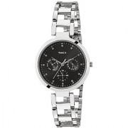 Timex E-Class Analog Black Dial Womens Watch - TW000X205