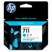 HP Originale DesignJet T 520 36 Inch Cartuccia stampante (711 / CZ 130 A) ciano, Contenuto: 29 ml