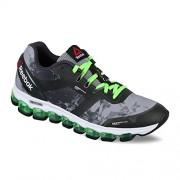 Reebok Men's Reebok Zjet Soul Grey, Gravel, Green, White and Black Running Shoes - 8 UK/India (42 EU)(9 US)