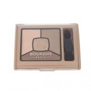Bourjois Paris Smoky Stories Quad Eyeshadow Palette 3,2G 13 Taupissime Per Donna (Cosmetic)