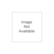 Vestil Structural Cast Rack Guard - With Rubber Bumper, 12 Inch H, 5 1/2 Inch W x 4 Inch D Usable Opening, Model G6-12-B, Yellow