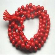 Jaipur Gemstone Natural Coral Beads Mala Certified By IGL Lab