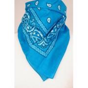 Boerenzakdoek / bandana in turquoise