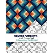 Geometric Patterns - Adult Coloring Book Vol. 1 - Inkcartel, Paperback/David Hinkin Jr