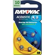 Rayovac 10 Acoustic Special - 10 blistere