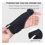 1Pc Sport Thumb Protector Brace Guard Ajustable Hand Wrist