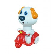 Babysid Collection Toys for 1 Year Old Girl Boy Babies Girls Boys Kids Friction Powered Toy Dog Riding Scooter Size : 14 x 9 x 7 cm