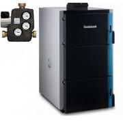 Pachet centrala termica lemne gazeificare Buderus S171 -30KW-pachet premium