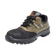 EMMA NORDIC Veiligheidsschoenen Lage Werkschoenen S3 - Bruin/Zwart - Size: 46