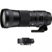 Sigma 150-600mm Obiectiv Foto DSLR F5-6.3 DG HSM OS Contemporary Kit cu TC-1401 1.4x Montura Canon EF