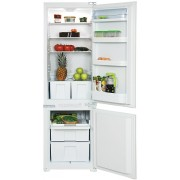 Combina frigorifica Pyramis BBI177, incorprorabila, A+, 189+75 litri, usi reversibile, clasic, alb