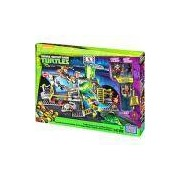 Mega Bloks Tartarugas Ninja Animation Conjunto Esgoto - Mattel