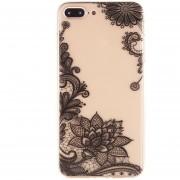 Cubierta Caja Funda Protectora Floral Suave Para Celular IPhone 7/8 / 8P / IPhoneX