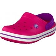 Crocs Crocband Kids Neon Magenta/Neon Purple, Skor, Sandaler & Tofflor, Foppatofflor, Rosa, Unisex, 19