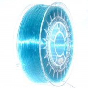 Filament Transparent Devil Design PETG pentru Imprimanta 3D 1.75 mm 1 kg - Albastru