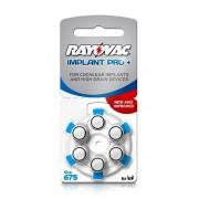 Baterii Rayovac Implant Pro + RC675/6 Buc