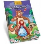 Povesti clasice de colorat - Scufita Rosie