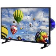 Xoro HTC 2448 LED-TV 60 cm 24 inch Energielabel: A (A++ - E) DVB-T2, DVB-C, DVB-S, HD ready, DVD-speler Zwart