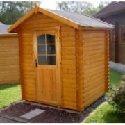 Cabaña de madera Azalea 220x220 cm para Jardín