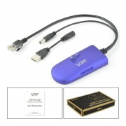 2.4G Wireless WIFI Dongle Puente De 300m El Range Extender Repetidor Amplificador De Señal Azul