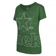 Heineken A one-of-a-kind T-shirt for everyday occasions. Go for this high-quality Heineken shirt if you like to distinguish yourself in a subtle way.