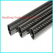 Generic 2pcs 3K High Gloss : 1-10pcs 10mm ODX 8mm IDX 500MM 3k Carbon fiber tube/Carbon wing Tubing/supplier/pipe 10*8 (Factory outlets)carbon fiber supplier