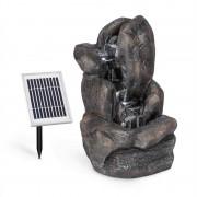 Blumfeldt Felsquell napelemes vízesés szökőkút, akkumulátor, 2 W szolár panel, 3 LED (SOL1-Felsquell)