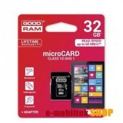 32 GB microSDHC/TransFlash MEMÓRIA KÁRTYA (Class 10) + SD