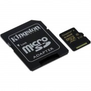 Kingston microSDXC 90MB/s UHS-I + SD Adapter, 64GB