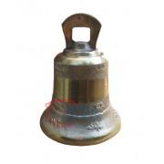 Sino em Bronze Decorado 16 cm diâmetro