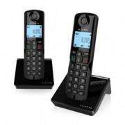 Alcatel Trådlös telefon Alcatel S250DUO DECT svart (2 st)