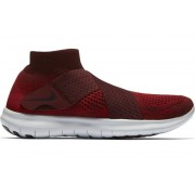 Nike Free Run Motion Flyknit W - scarpe running neutre - donna - Black/White