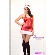 Costume Babba Natale Sexy Lucido