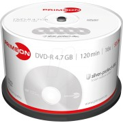 PRIM 2761204 - DVD-R 4.7GB/120Min, 50-er Cakebox