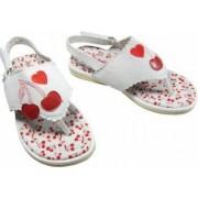 Sandale fete 365165 alb 20 Primii Pasi