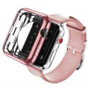 Capa de TPU Dux Ducis Gadget Series para Apple Watch - 38mm - Cor-de-Rosa Dourado