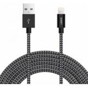 Cablu de date incarcare Aukey Apple 2m cb-d42 Negru