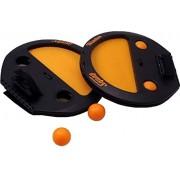 Zuffon Catch and Throw Ball Outdoor Game Sports Set with 2 Squaps and 4 Balls for Boy's and Girl's (Multicolour)