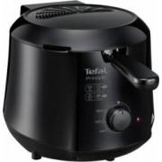 Friteuza Tefal Minicompact FF230831 Principio 1000W 0.6 Kg 1.2L termostat reglabil Negru