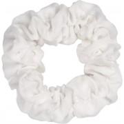 Witte scrunchie