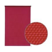 Rulou cu cleme de prindere, tensionat lateral, fara gaurire, uni rosu cireasa 75x150 cm, incl. suport cleme