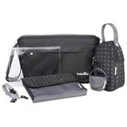 Babymoov Messenger Bag - Colour:Black Retail Box 1 Year Warranty