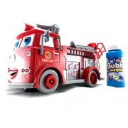 Lvnv Toys@ Fire Engine Truck Bubble Machine Blower Solution Birthday Party Bubbles Toy
